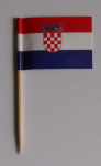 Croatia Country Flag Cocktail Sticks (pack of 10)